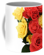 Roses Closeup Coffee Mug