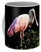 Rosette Spoonbill Shimmering Coffee Mug