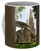 Rotunda Of Illustrious Jalisciences And Guadalajara Cathedral Coffee Mug