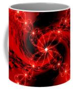 Rouge Et Noir Avec Blanc Coffee Mug