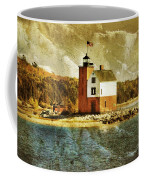 Round Island Lighthouse Coffee Mug