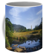 Round Tower In The Forest Glendalough Coffee Mug