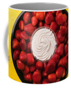 Round Tray Of Strawberries  Coffee Mug