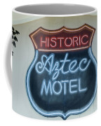 Route 66 Aztec Hotel Mural Coffee Mug