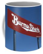 Route 66 Burma Shave Coffee Mug