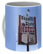 Route 66 Copper State Motel Coffee Mug