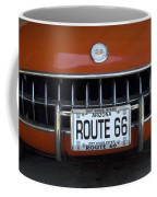 Route 66 Corvette Grill Coffee Mug