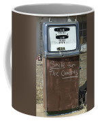 Route 66 Gas Pump Humor Coffee Mug