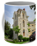 Route 66 - Macoupin County Jail Coffee Mug by Frank Romeo