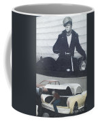 Route 66 Marlon Brando Mural Coffee Mug