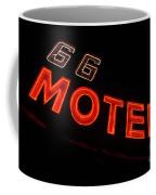 Route 66 Motel Neon Coffee Mug