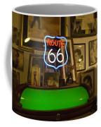 Route 66 Neon Sign 1 Coffee Mug