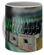 Route 66 Odell Il Gas Station Cases Of Pop Bottles Digital Art Coffee Mug