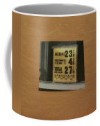 Route 66 Odell Il Gas Station Gas Prices Signage Coffee Mug