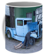 Route 66 Repair Shop Coffee Mug
