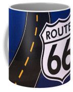 Route 66 Sign Winslow Arizona Coffee Mug