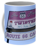 Route 66 Twisters Sign Coffee Mug