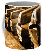 Row Of Cars Coffee Mug by Carlos Caetano