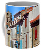 Row Of Houses In Arles Provence Coffee Mug