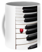 Row Of Piano Keys Coffee Mug