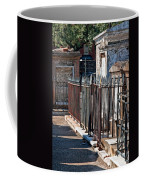 Row Of Tombs St Louis One Cemetery New Orleans Coffee Mug