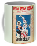 Row Row Row: Song Sheet Coffee Mug