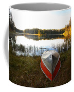 Rowboats At Jade Lake In Northern Saskatchewan Coffee Mug