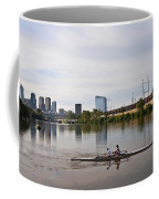 Rowing The Schuylkill Coffee Mug