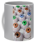 Rows Of Eyeballs Coffee Mug