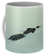 Rows Of Scutes Cover A Saltwater Coffee Mug
