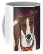 Royalty - Greyhound Painting Coffee Mug by Michelle Wrighton