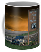 Rt 66 Towanda Signage Coffee Mug
