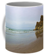 Ruby Beach Seastack Reflection Coffee Mug