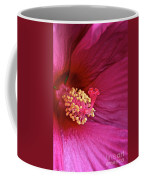 Ruby Hibiscus Coffee Mug