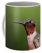 Ruby-throated Hummingbird - Macho Man Coffee Mug