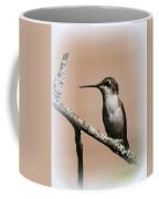 Ruby-throated Hummingbird - Totally Innocent Coffee Mug