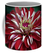 Ruby Zinnia Coffee Mug