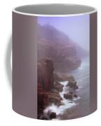 Rugged Seacoast In Mist Coffee Mug