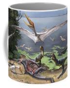 Rugops Primus Dinosaurs And Alanqa Coffee Mug