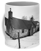 Ruined Cottage In Snow Coffee Mug