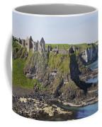 Ruins On Coastal Cliff Coffee Mug