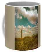 Rural Barbed Wire Fence Coffee Mug