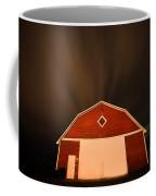 Rural Barn Night Photograhy Coffee Mug