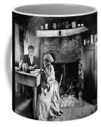 Rural Couple Eating, C1899 Coffee Mug