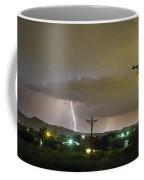 Rural Lightning Striking Coffee Mug