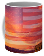 Rural Patriotic Little House On The Prairie Coffee Mug by James BO  Insogna