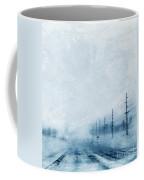 Rural Road In Winter Coffee Mug