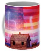 Rural Rustic America Storm Coffee Mug