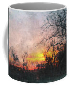 Rural Sunset  Art Coffee Mug