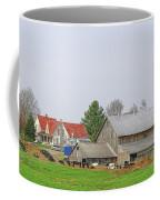 Rural Vermont Farm Scene Coffee Mug